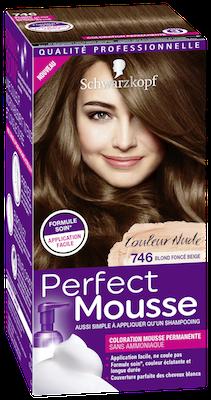 Coloration Permanente Sans Ammoniaque Perfect Mousse Blond Foncé
