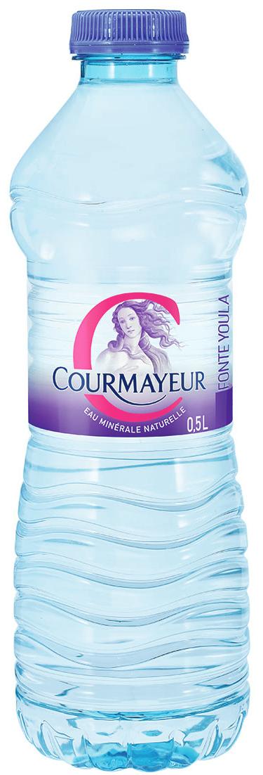 Courmayeur eau minéral nature 6x,COURMAYEUR,6 x 0,5 L