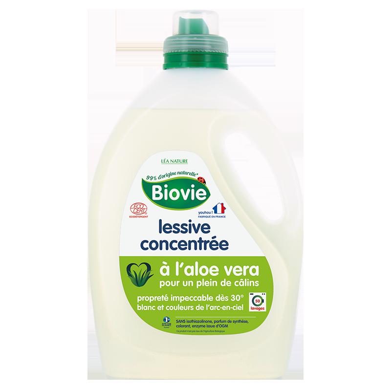 Lessive liquide concentrée,BIOVIE,Flacon de 3 L